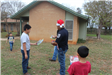 Kids Receiving Toys