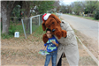 Little Boy with McGruff