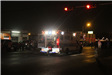 Ambulance at Night in Parade