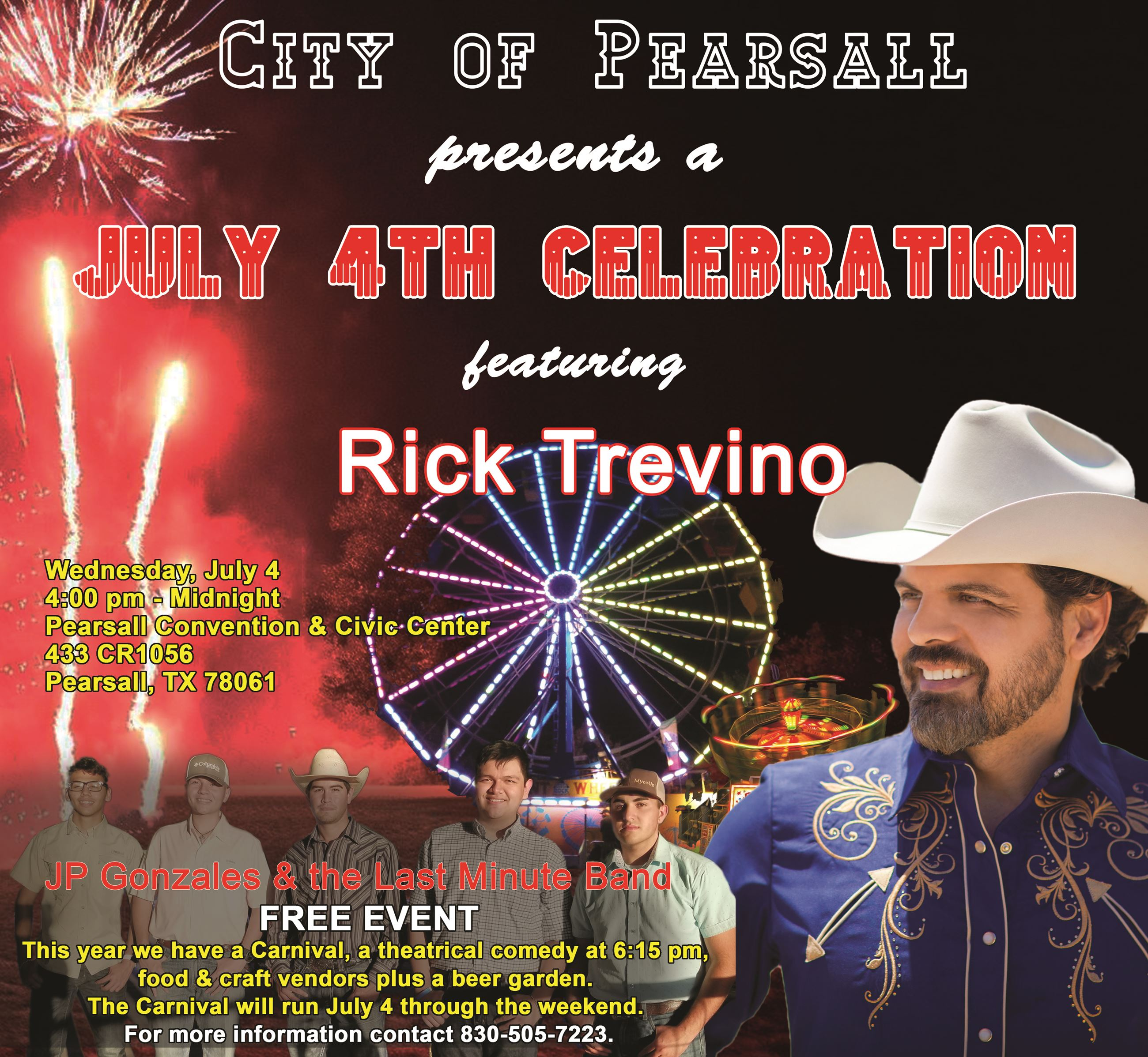 4th of July 2018 flyer AD